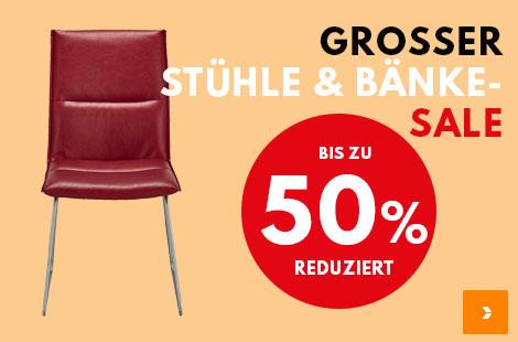Sale Stühle und Bänke