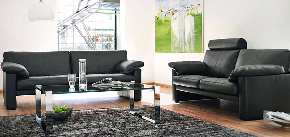 erpo sofa polsterm bel mit qualit t aus stoff leder. Black Bedroom Furniture Sets. Home Design Ideas