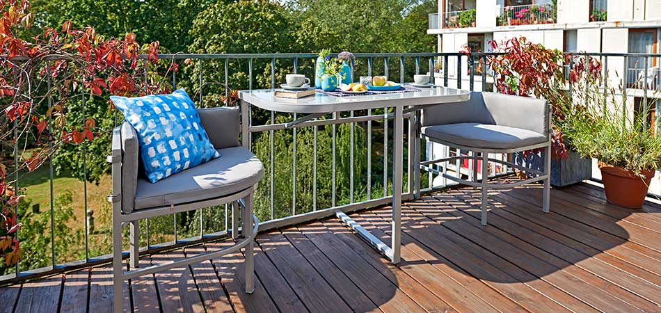 Balkon Möbel