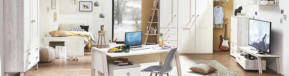 Eckkleiderschrank jugendzimmer möbel boss  Jugendmöbel bei Möbel Kraft online kaufen - Möbel Kraft