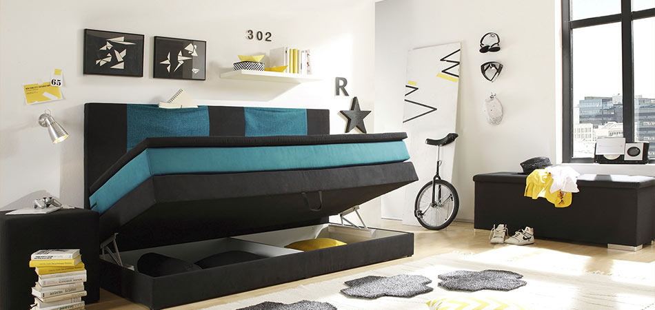 multifunktionaler sitzsack im jugendzimmer 3. Black Bedroom Furniture Sets. Home Design Ideas