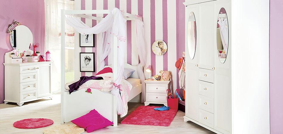 Romantisches Jugendzimmer