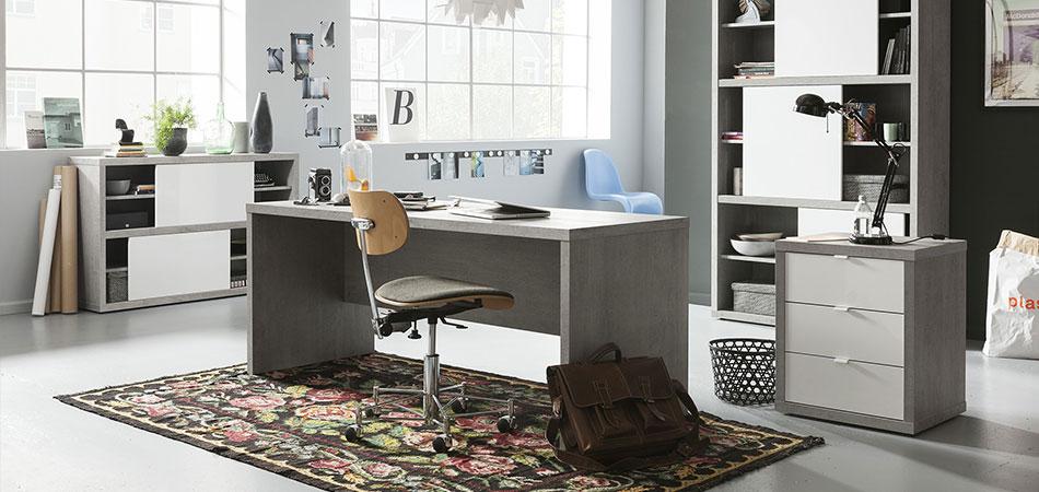 Büromöbel weiß grau  Büromöbel bei Möbel Kraft online kaufen - Bei Möbel Kraft online kaufen