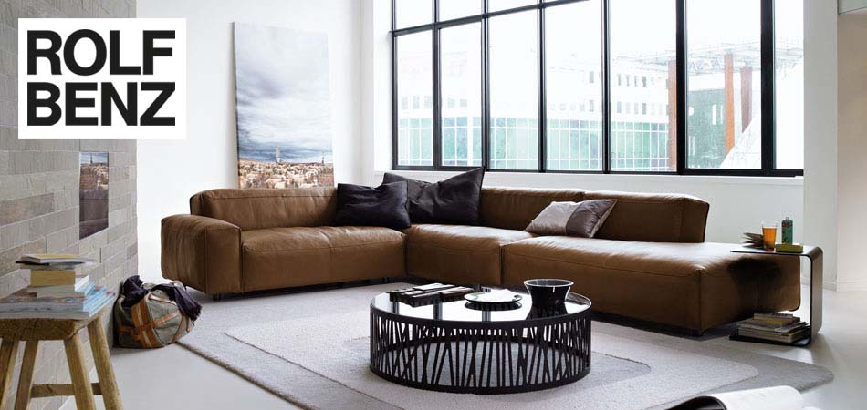 rolf benz polsterm bel markenm bel mit design qualit t bei m bel kraft. Black Bedroom Furniture Sets. Home Design Ideas