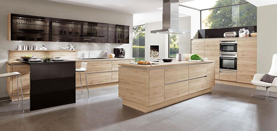 Grifflose Küchen für zeitlose Eleganz - große Auswahl bei Möbel Kraft
