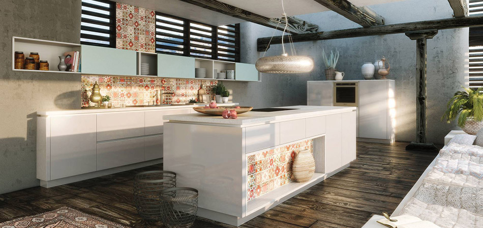 Offene Kuchen Kochen Und Wohnen In Einem Mobel Kraft