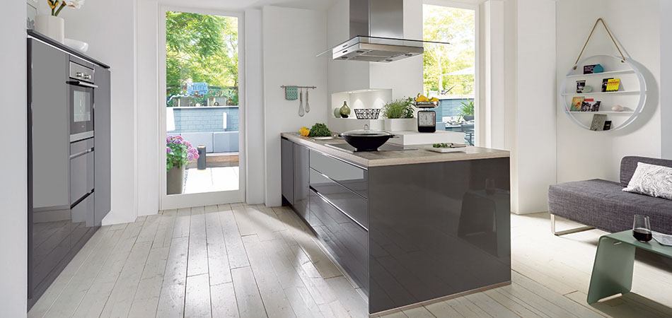 Kucheninseln Zentrum Moderner Wohnkuchen Mobel Kraft