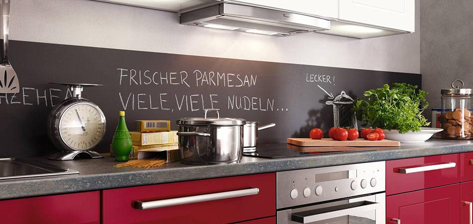 Miniküche rot Pino 475