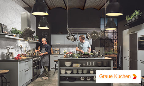 graue Küchen
