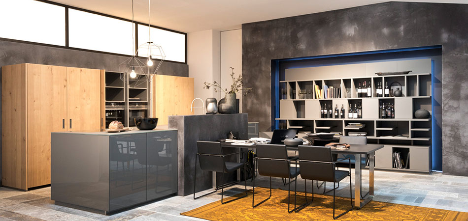 Moderne Küche Nolte Nova Lack