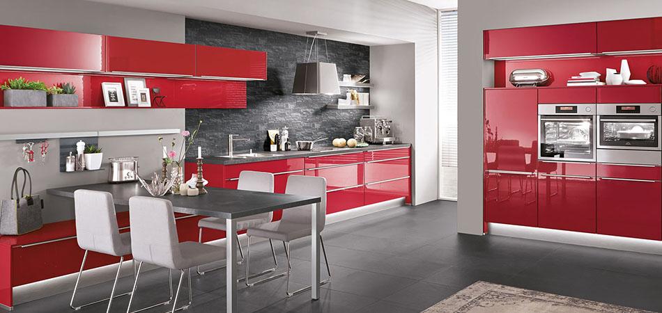 Moderne Küche Nobilia Flash