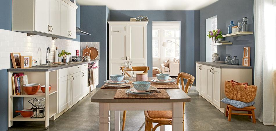Weiße Küche ML 16209