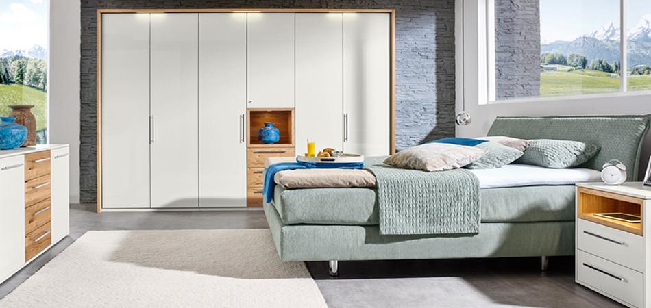 Loddenkemper-Schlafzimmer Meo