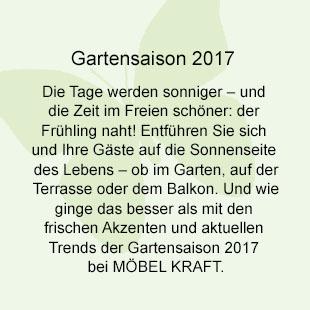 Gartenmöbel-Ausstellung 2017