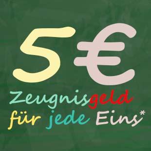 Zeugnisgeld 2017