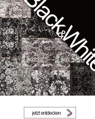 Wohnen in Schwarz Weiß