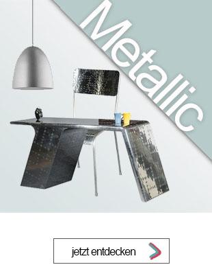 Wohnen in Metalloptik