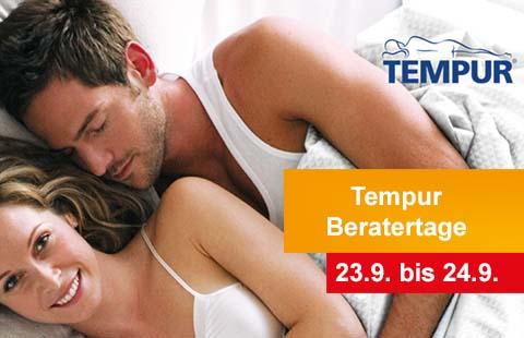 Tempur-Beratertage