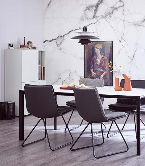 sch ner wohnen m bel kollektion bei m bel kraft online. Black Bedroom Furniture Sets. Home Design Ideas