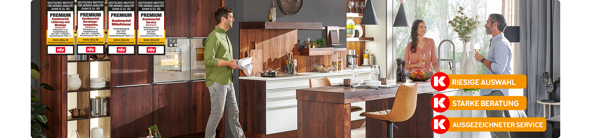 Küchen bei Möbel Kraft