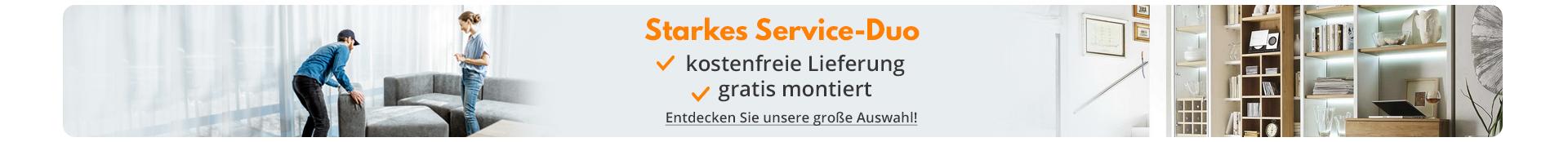 Starkes Service-Duo - kostenlose Lieferung & gratis montiert