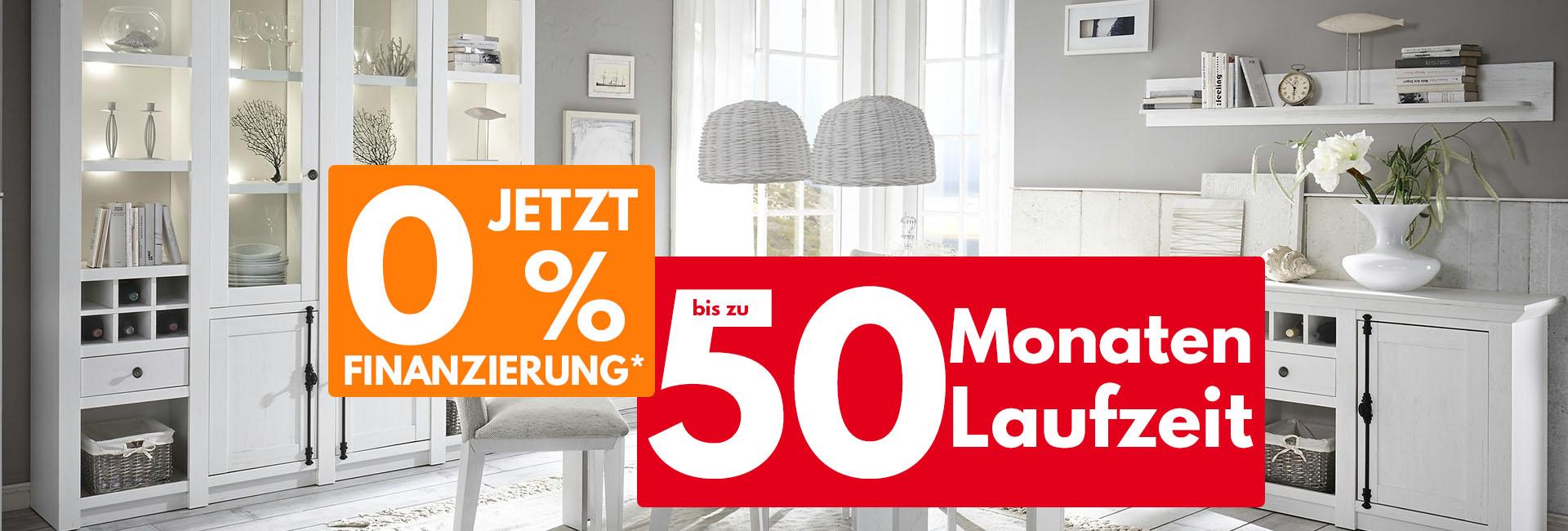Null Prozent Finanzierung von Möbel Kraft