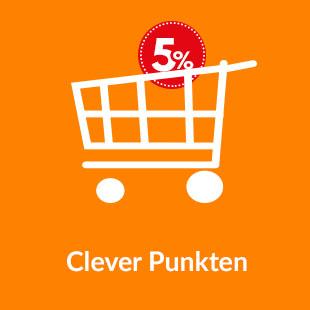 Punkte sammeln und bis zu 5% sparen
