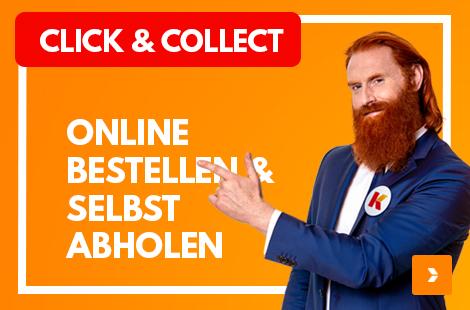 Click und Collect: Online bestellen und selbst abholen