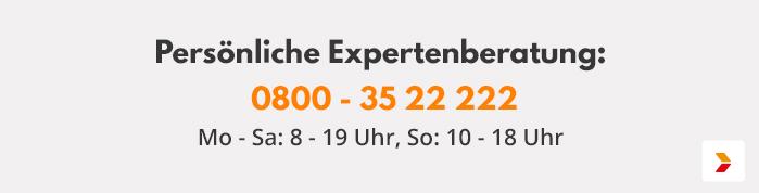 Persönliche Expertenberatung: 033439 - 70 997