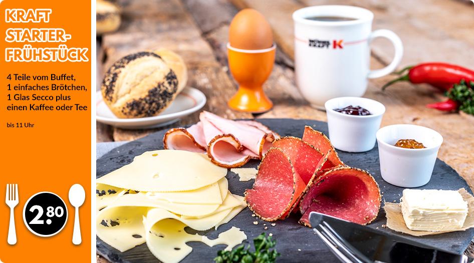 Kraft Starter Frühstück täglich ab 11 Uhr