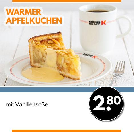 warmer Apfelkuchen