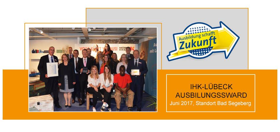 IHK Ausbildungs-Award 2017 für den Standort Bad Segeberg