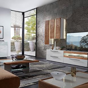 Rotes esszimmer fur intensive einladende atmosphare  Möbel von LEONARDO LIVING - Bei Möbel Kraft online kaufen