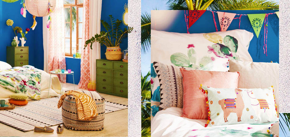 Yay, it´s summer, Colourful Summerfeeling für´s Schlafzimmer
