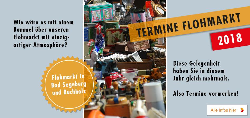Flohmarkt bei Möbel Kraft in Buchholz - Termin 2018
