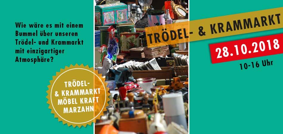 Trödelmarkt 28.10.2018 Möbel Kraft Berlin Marzahn