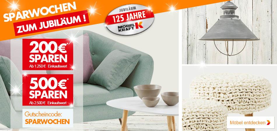 Sparwochen Im Möbel Kraft Onlineshop