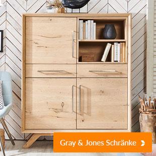Gray & Jones Schränke