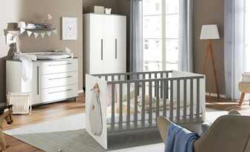 Babyzimmer, 5-teilig  Kalea