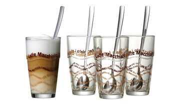 Ritzenhoff & Breker Latte Macchiato Glas, 4er-Set  Lena