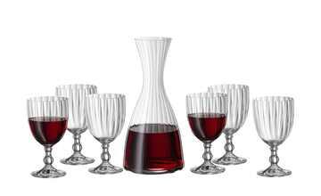 BOHEMIA Wein-Set 7-teilig