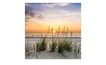 Glasbild 20x20 cm  Lonely Dune