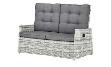 a casa mia Sofa 2-Sitzer  Padua hellgrau