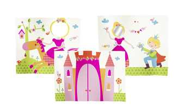 FLEXA Prinzessin-Spielvorhang 3-teilig