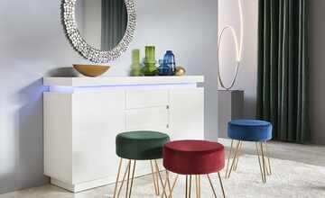 rahmenspiegel wei bei m bel kraft online kaufen. Black Bedroom Furniture Sets. Home Design Ideas