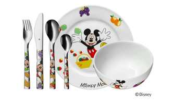 WMF Kindergeschirr 6-teilig  Mickey Mouse