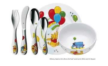 WMF Kindergeschirr 6-teilig  Winnie the Pooh