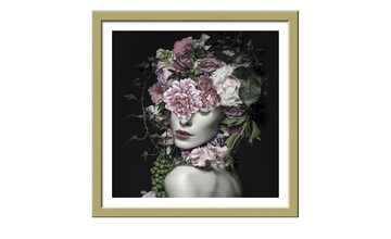 Gerahmtes Bild Slim-Scandic  Flowerwoman