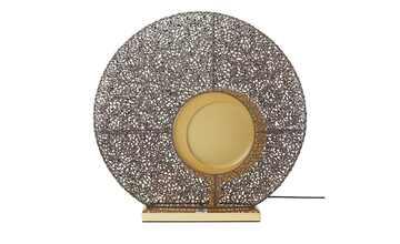 Fischer-Honsel LED-Tischleuchte, 1-flammig, rost-/ goldfarben