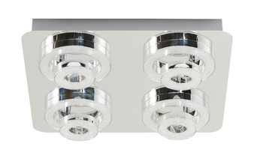 Paul Neuhaus Smart Home-Deckenleuchte, 4-flammig, chrom